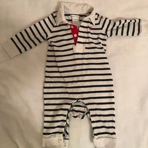 Ralph Lauren Baby Boy Striped One Piece Sz 6 mo